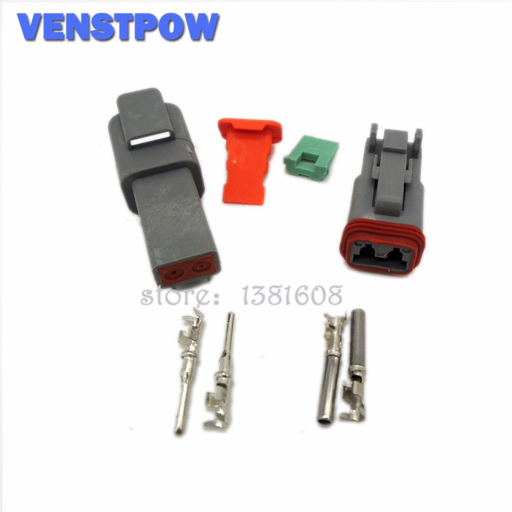 1 Set Deutsch Dt06 Dt04 2 3 4 6 8 12 Pin Waterproof Electrical Wire Auto Wiring Harness Water Proof Connector