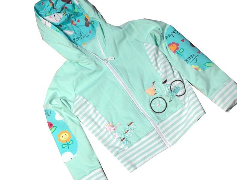 Jacken - Mädchenjacke Gr. 110/116 - ein Designerstück von C-Fashion-Design bei DaWanda