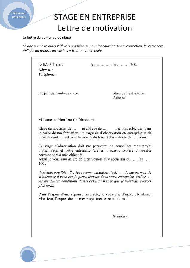 Modele Lettre A Un Depute Pour Une Demande De Stage Recherche Google Exemple De Lettre Lettre De Motivation Ecole Exemple De Lettre De Motivation