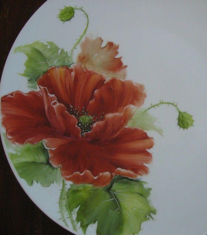 Porcelaine m thodes peinture sur porcelaine peinture for Peinture sur verre