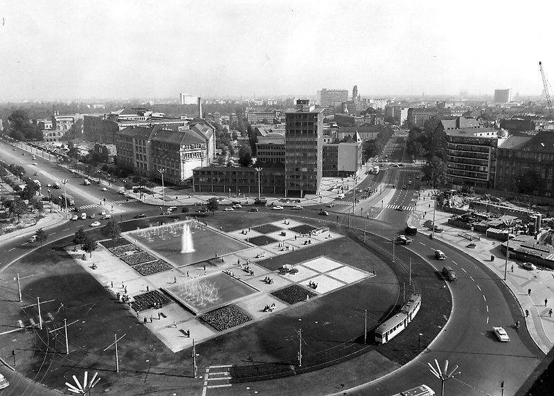 Ernst Reuter Platz 1960 ErnstReuterPlatz vom Telefunken