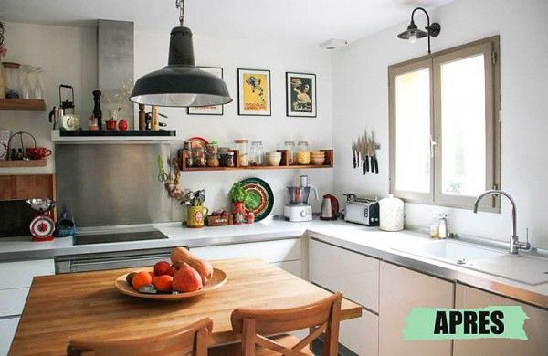 avant apr s le relooking cuisine patant de julie d coration appart relooking cuisine. Black Bedroom Furniture Sets. Home Design Ideas