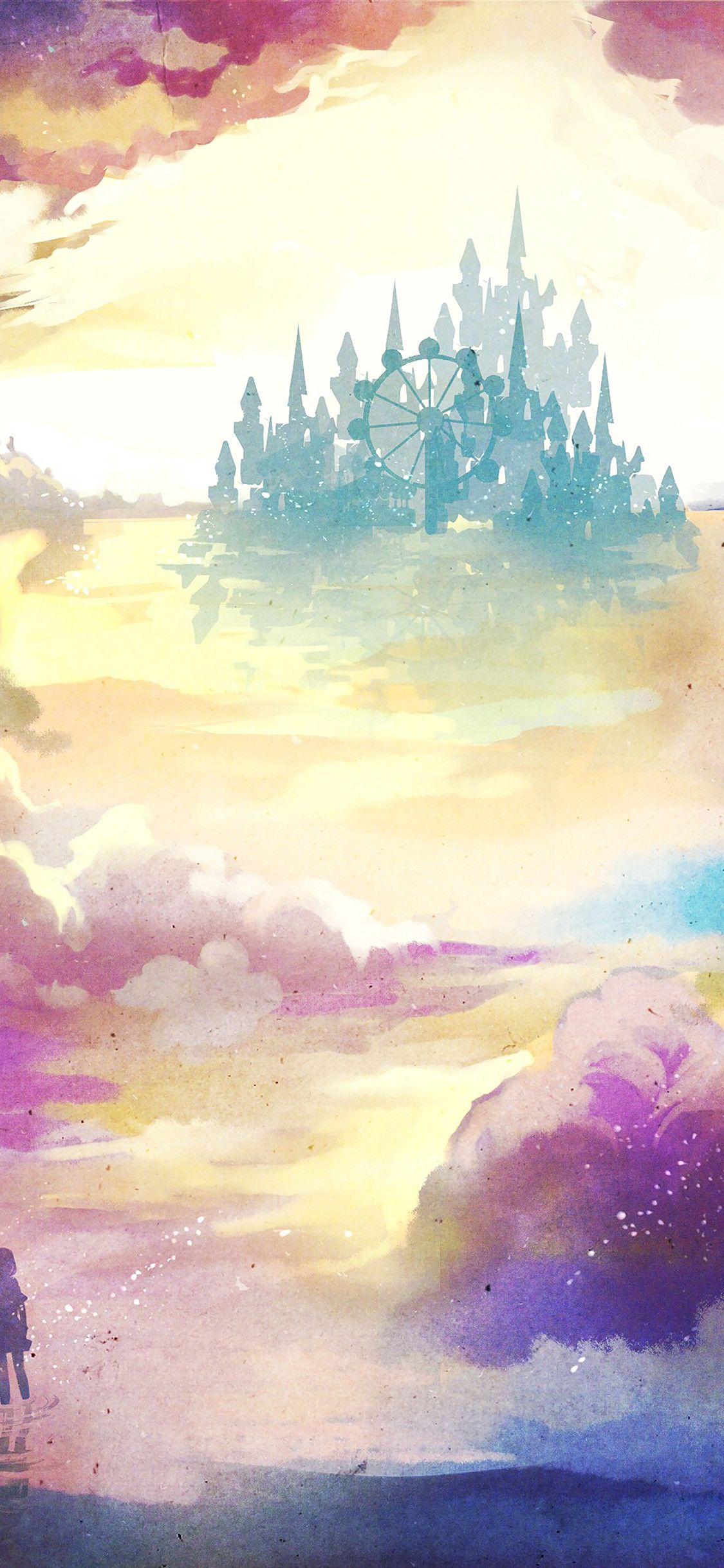 Watercolor Iphone Wallpapers On Wallpaperplay Art Wallpaper