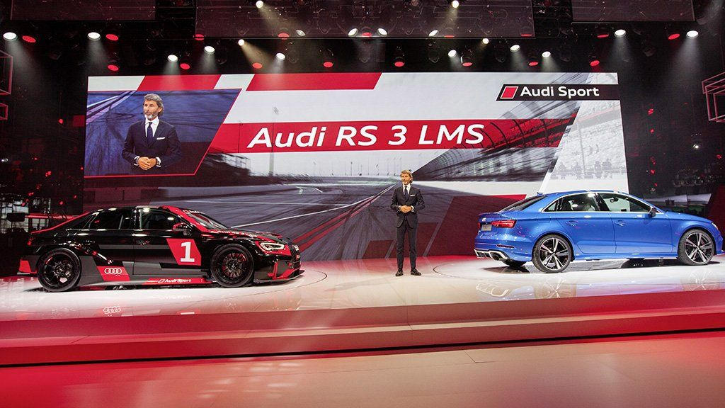 Audi has built the RS3 LMS to compete in the TCR