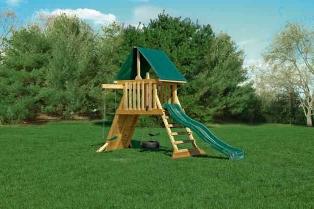 Compact Cliff Climb Swing Set | Lancaster and York, PA ...