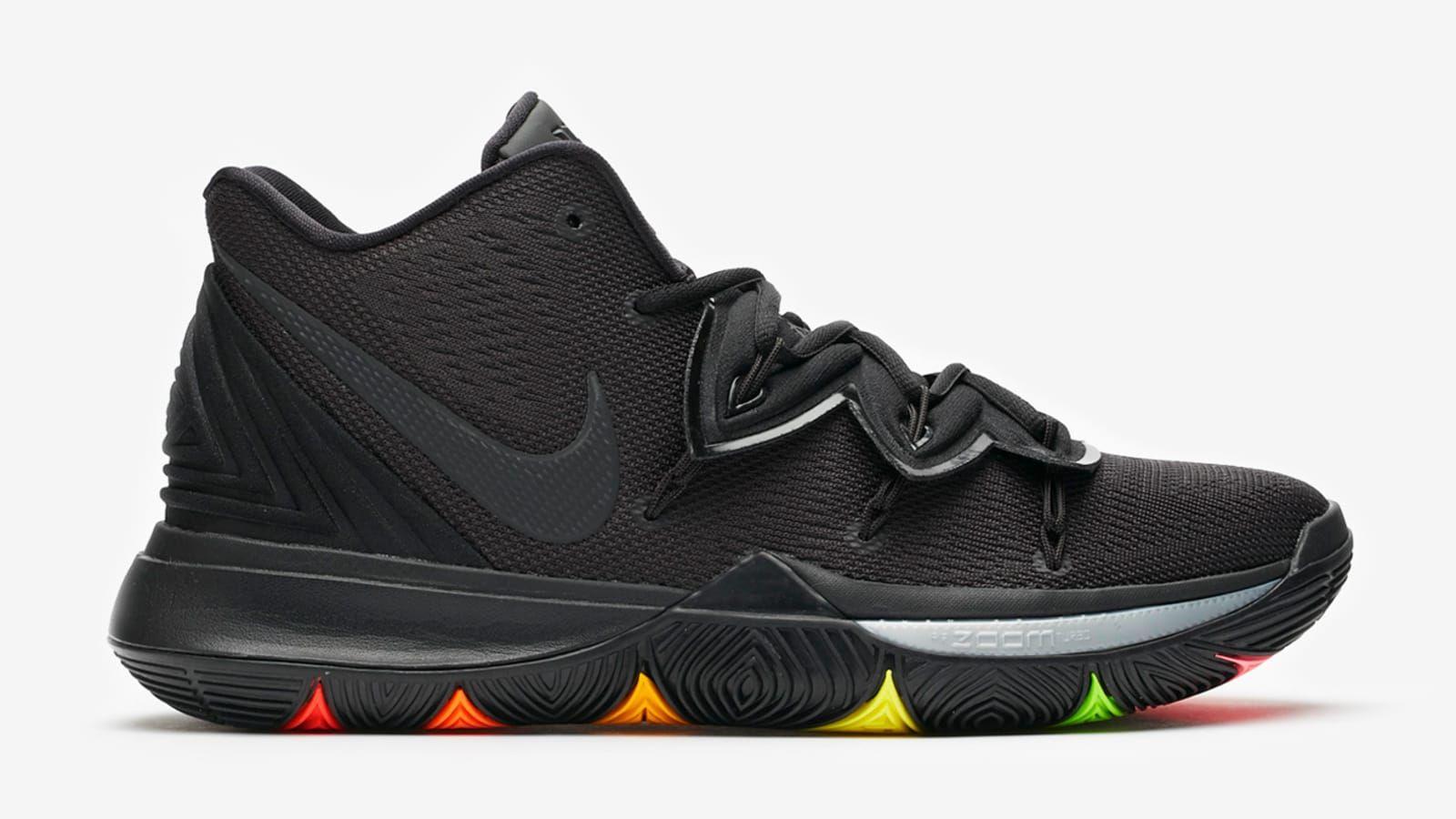 """Nike Kyrie 5 """"Black Rainbow"""" Drops Next Week Detailed"""