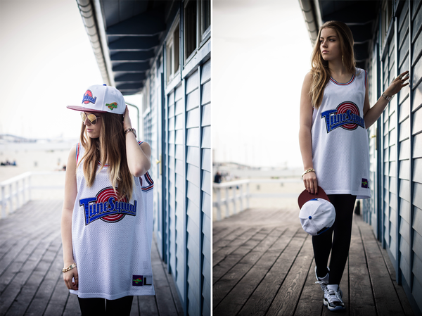 Starter x Space Jam Tune Squad Jersey and Snapback DOPE!  2e6af6e475a6