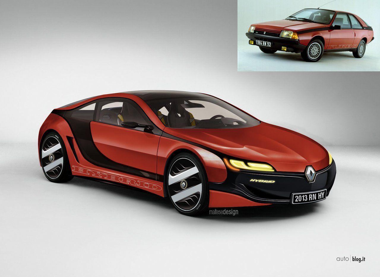 renault fuego concept cars from renault alpine pinterest cars car engine and car vehicle. Black Bedroom Furniture Sets. Home Design Ideas