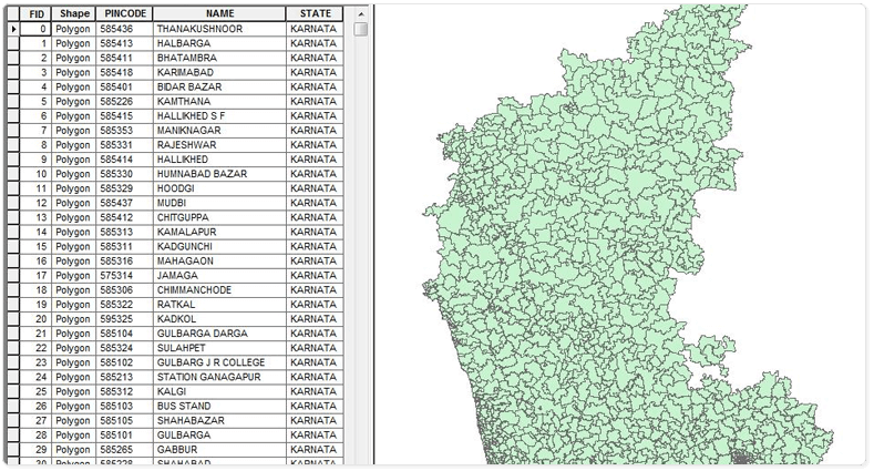 Pin by Custom Maps on Pin Code Boundary Maps Coding, Map