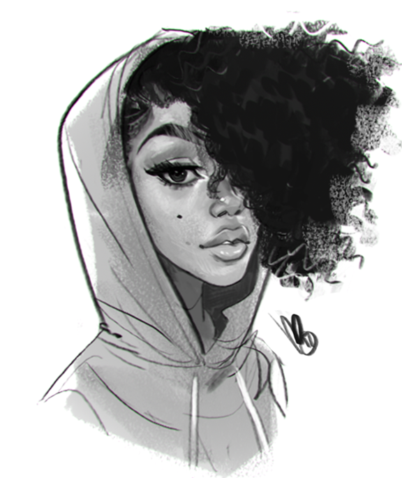 More Curly Hair Quick Photoshop Dook Keep On Keepin On