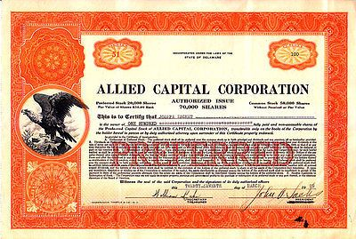 Allied Capital Corp  #AlliedCapitalCorp  #AlliedCapital  #Allied  #Capital  #Corporation  #CIK  #Stocks  #Kamisco