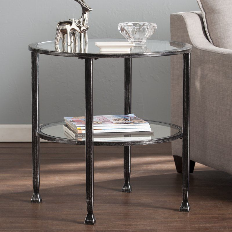 Orren Ellis Casas End Table Reviews Wayfair End Tables Glass End Tables Home Furniture Shopping