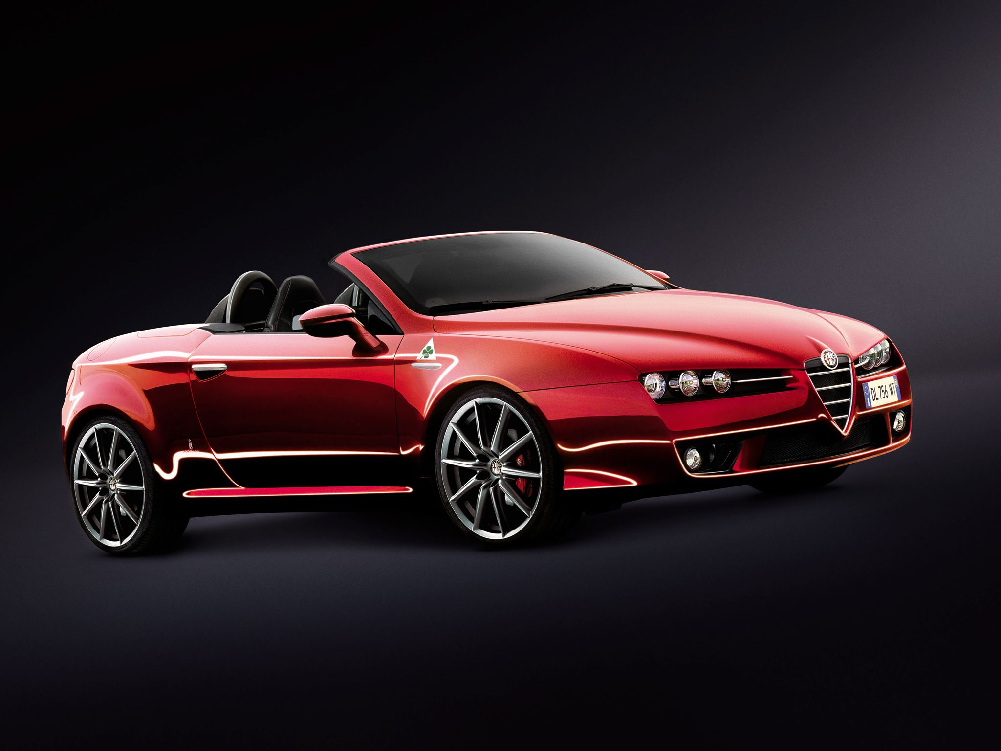 "Alfa Romeo Spider ""Mille Miglia"" Alfa Romeo Pinterest"
