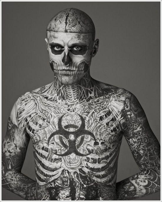 born this way tattoo guy