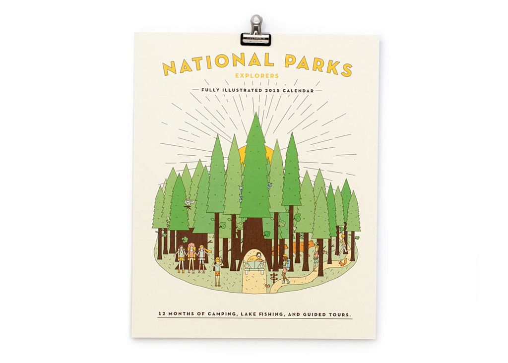 National Park 2016 Calendar