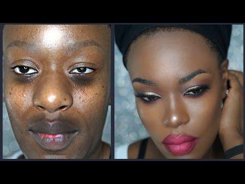 Makeup tutorial for dark skin beginners