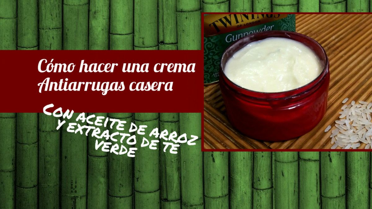 Crema antiarrugas casera (piel mixta-seca) - Cosmetica..