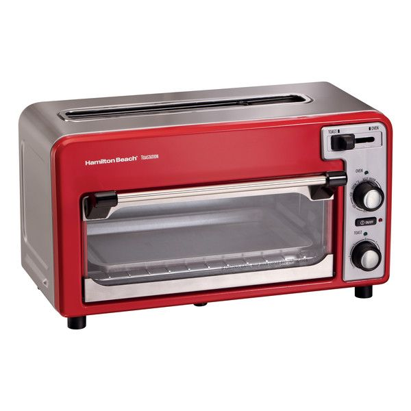 Hamilton Beach Toastation Combination Toaster Toaster Oven Reviews Wayfair Hamilton Beach Toaster Oven Toaster Oven Small Toaster Oven