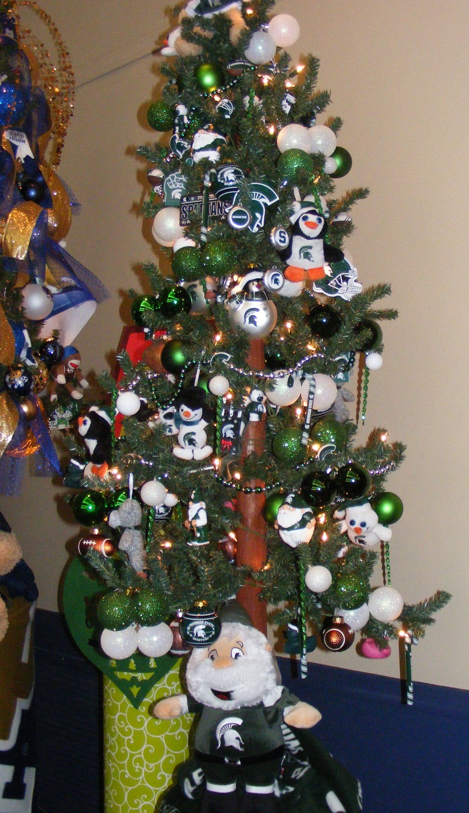 University of michigan christmas ornaments - Michigan State Tree