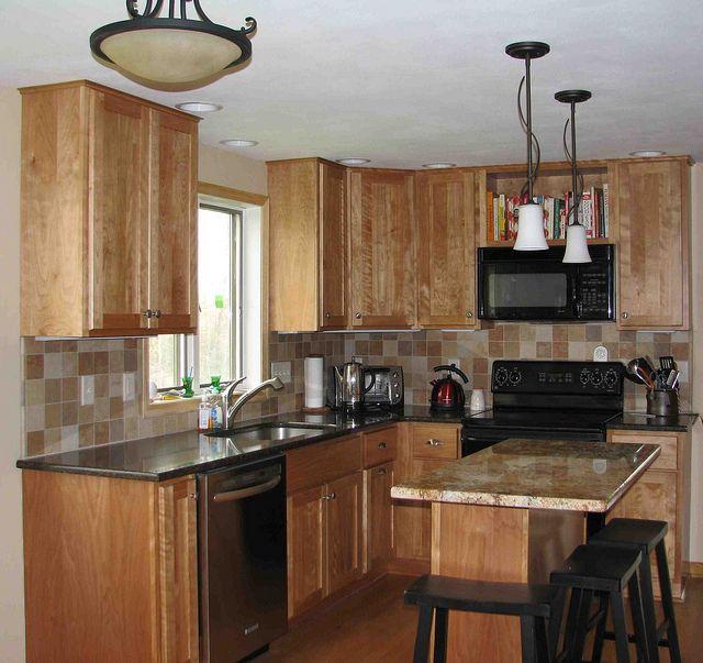 Birch Kitchen Cabinets: Natural Birch Kitchen Cabinets