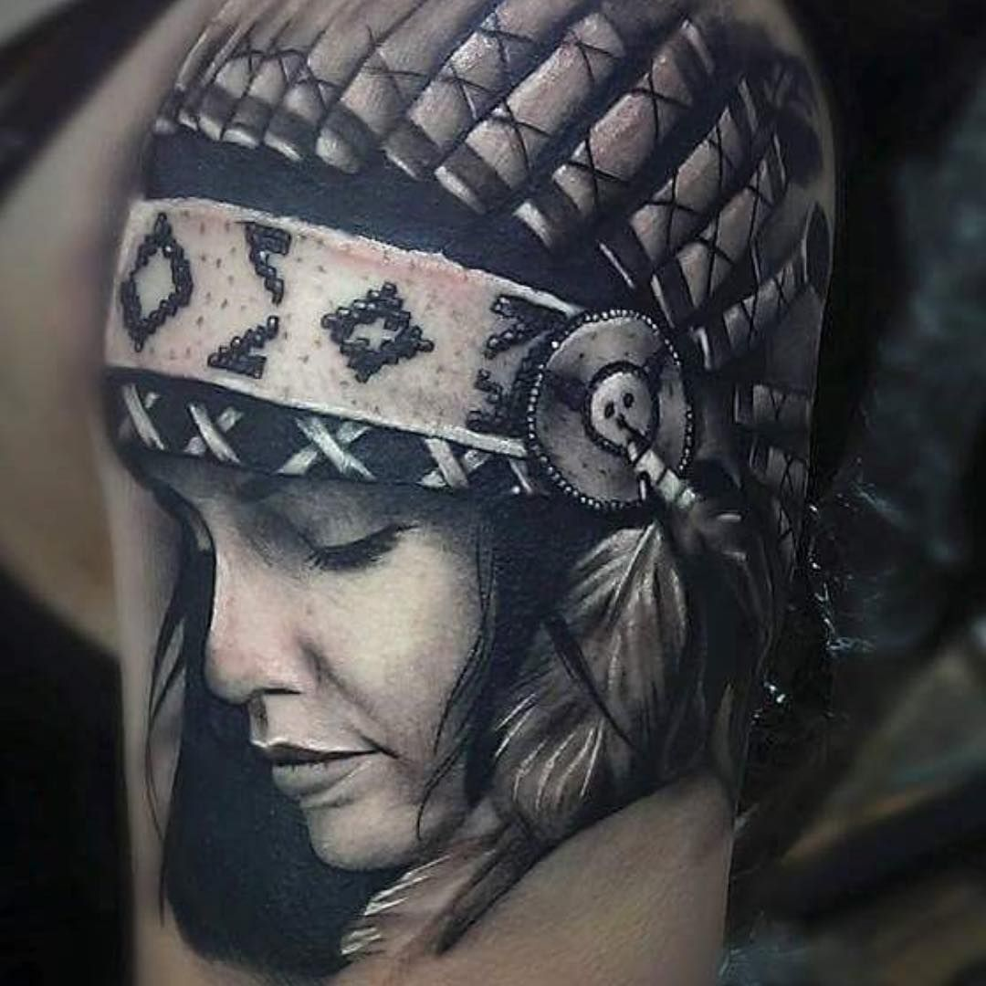 11++ Awesome Native american indian tattoo designs ideas