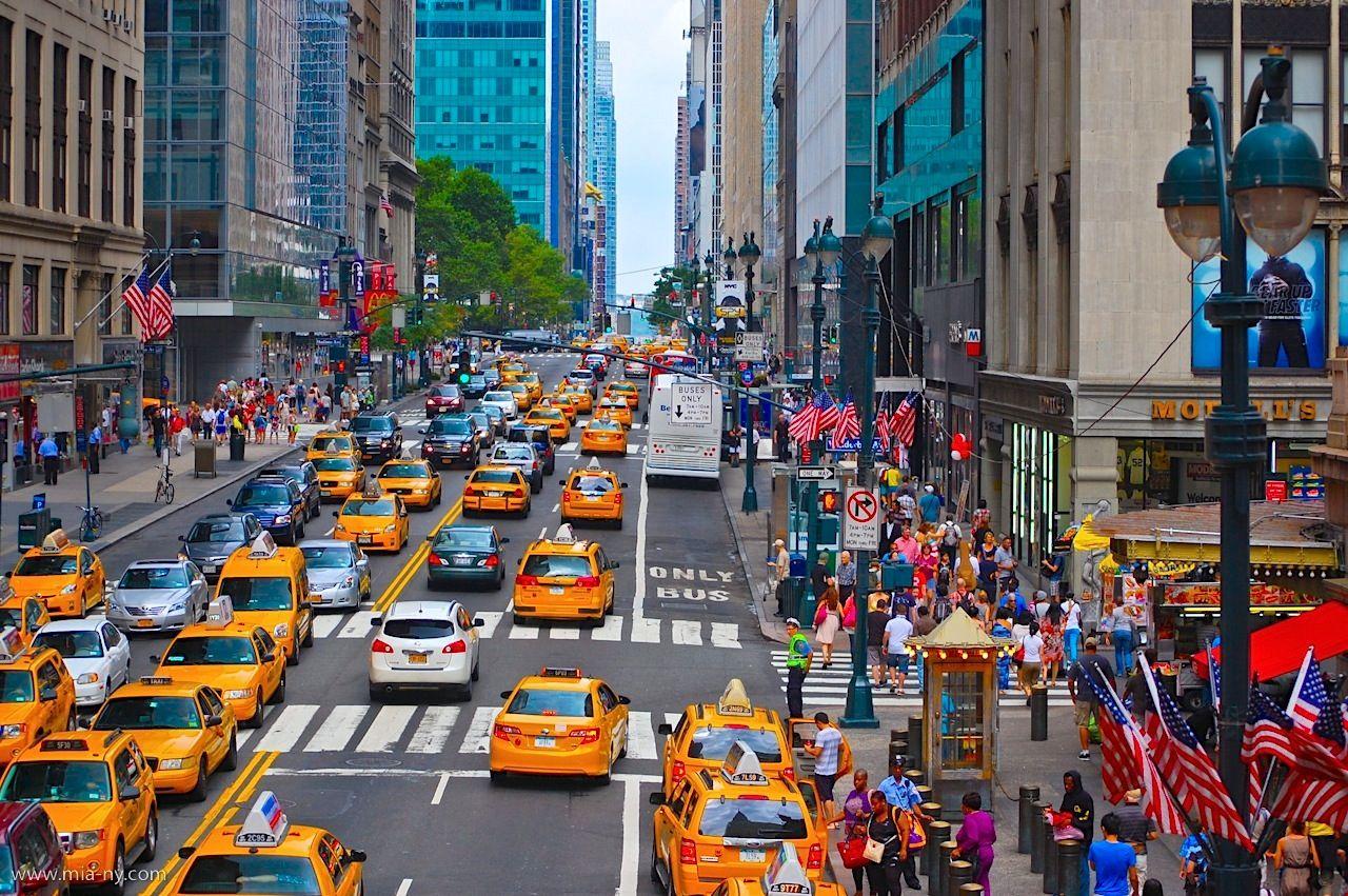 Weekend in New York City: 42nd Street. Midtown mania ...