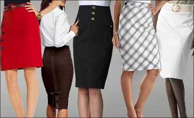 Modelos de Saias Evangélicas Jeans para Jovens e Senhoras