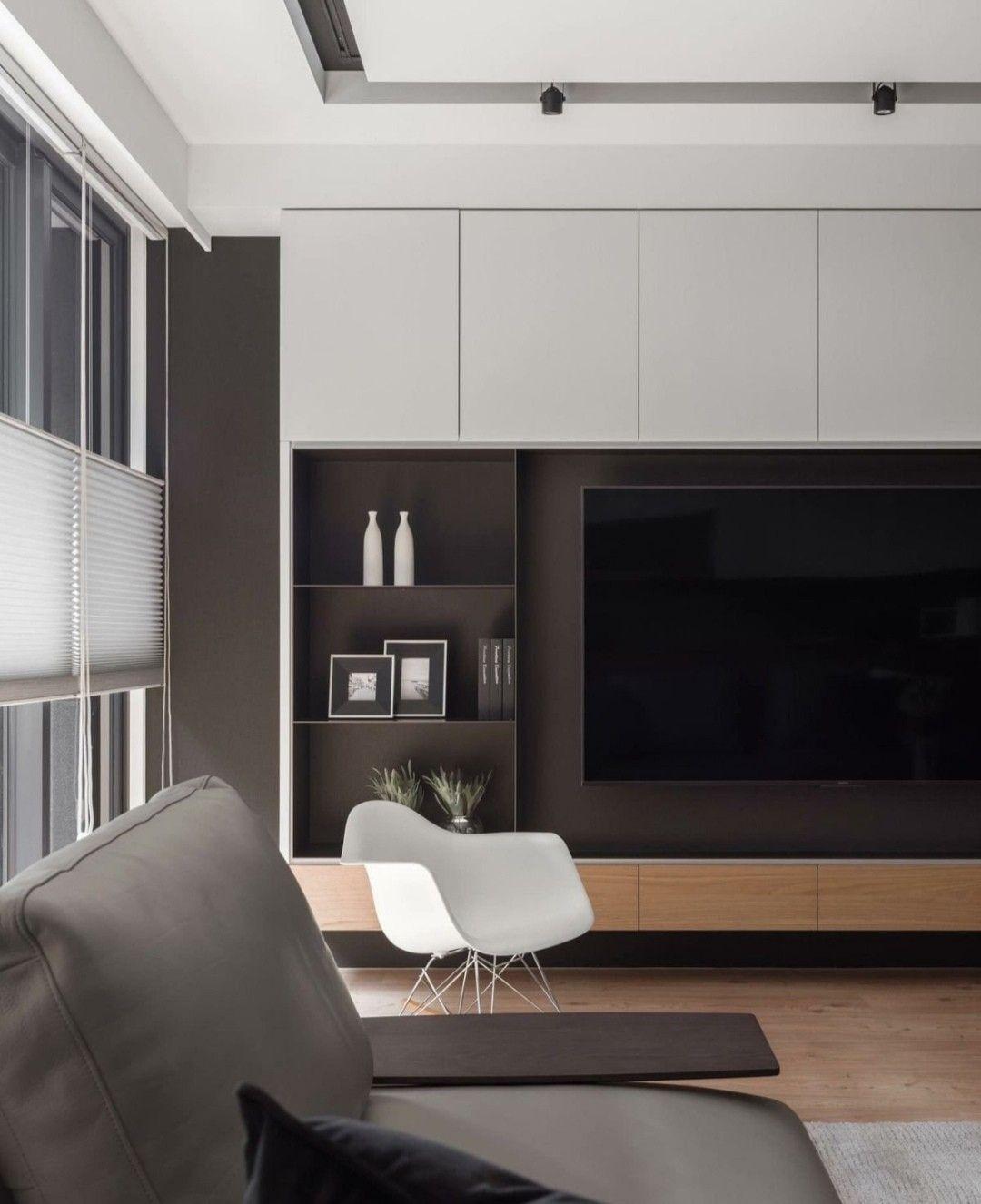 Epingle Par Innen Architecture Sur Design It En 2020 Meuble Salon Design Meuble Rangement Salon Amenagement Salon