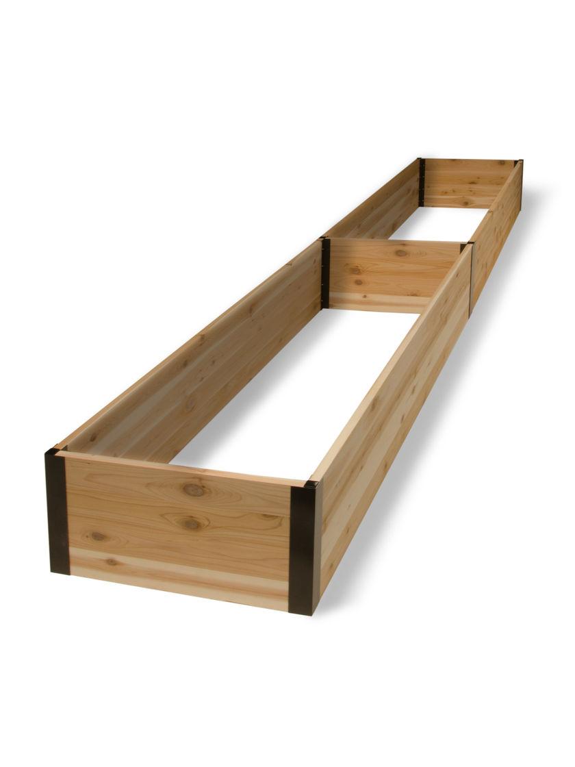 "Cedar Raised Beds 15"" Tall Deep Root Cedar Raised Beds 2"