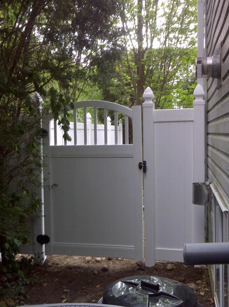 Bufftech Vinyl Fence Gate Vinyl Fencing Pinterest