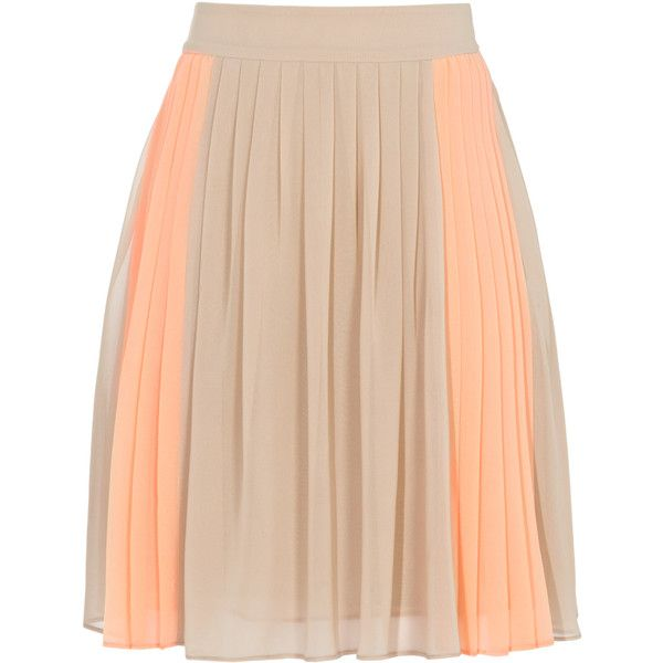 Reiss Devon Fully Pleated Skirt ($105) ❤ liked on Polyvore
