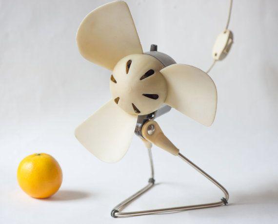 Soviet Electric Fan Working Tabletop Desk Fan Retro By SovietEra