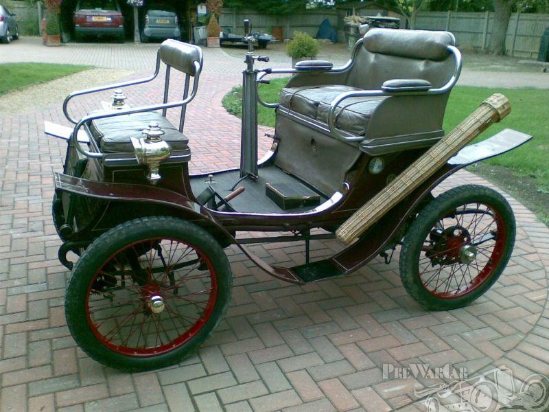 De Dion-Bouton 4.5hp double phaeton 1901 for sale 3 | Unusual ...