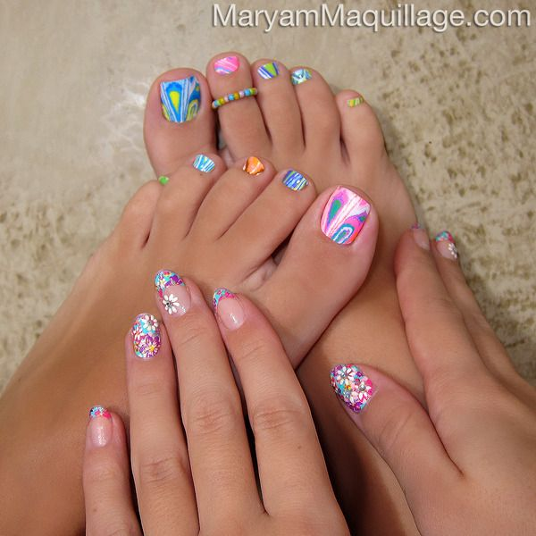 My next design on nails. | Twinkle Toes | Pinterest | Flower power ...