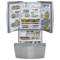 Kenmore Elite Stainless Steel French Door Refrigerator Reviews