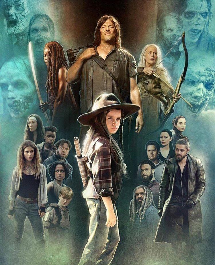 Twd Season 9 Achtergronden Poster