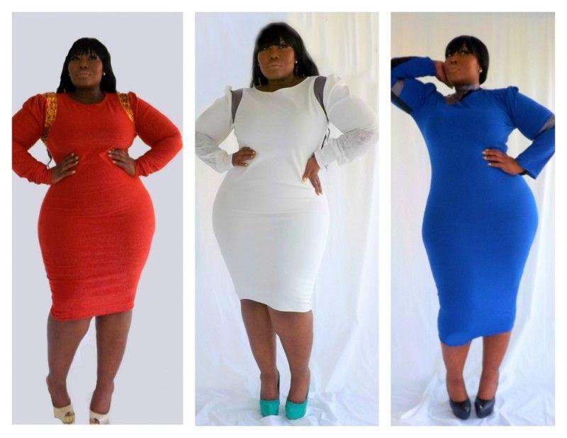 trendy plus size boutique dresses style - plusize
