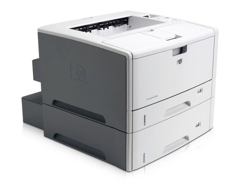 Hp Laserjet 5200 N 5200n 11x17 Printer Hp Filing Cabinet