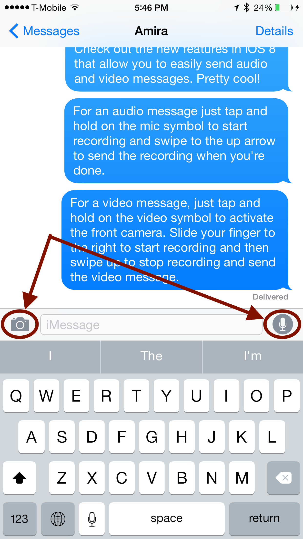 This Is An Amazing Way To Quickly Send Audio And Video Messages From Your Iphone Or Ipad Check It Out Messaging App Messages App