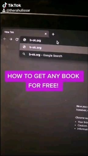Get Any Book For Free Video Life Hacks Websites High School Life Hacks Life Hacks For School