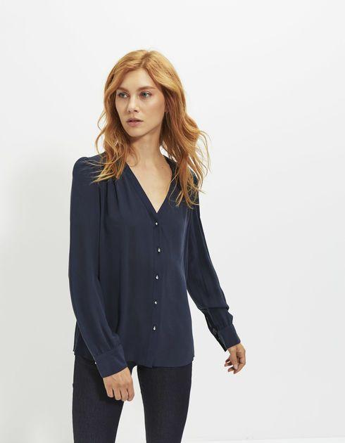 Blusa de seda mujer | Mujer IKKS | Moda OUTLET