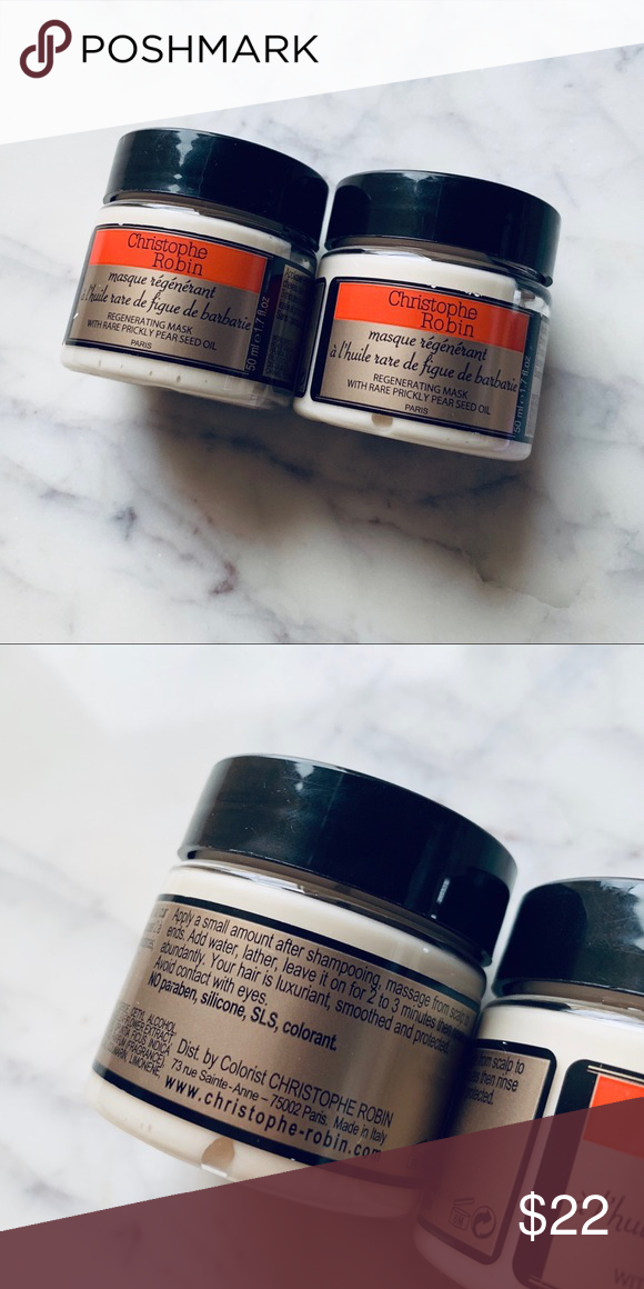 2x Christophe Robin Regenerating Mask Christophe Robin Travel Size Products Sephora Makeup