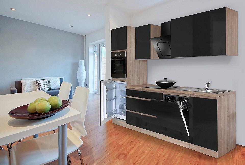 OPTIFIT Küchenzeile mit E-Geräten »Vigo, Breite 270 cm« Jetzt - küchenblock ohne e geräte