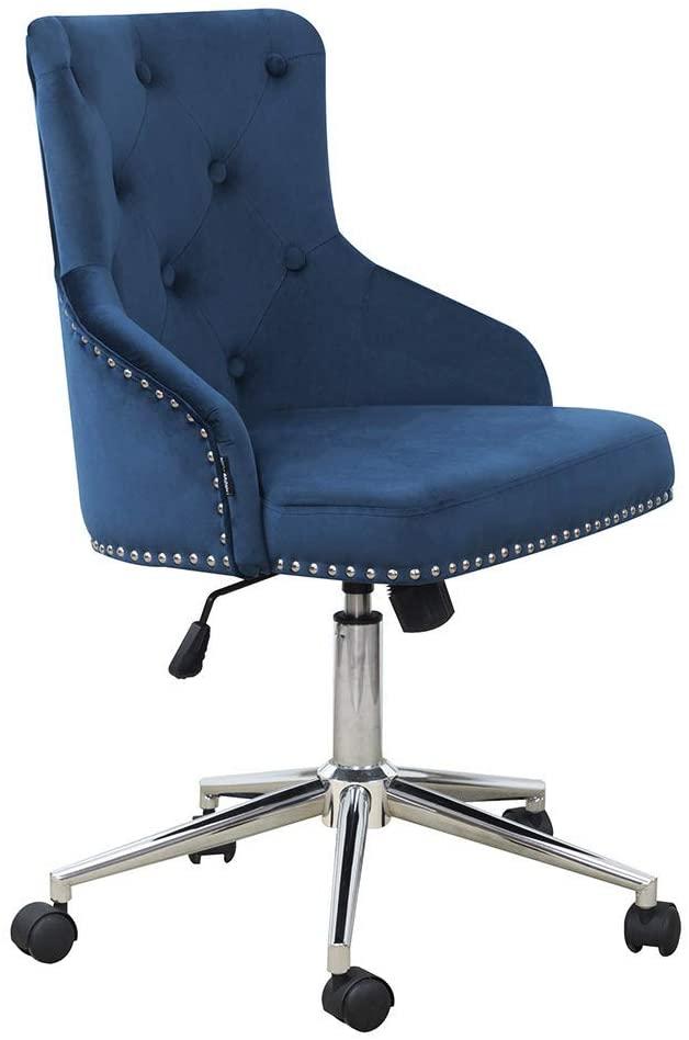 Amazon Com Dmf Furniture Home Office Chair With High Back Modern Design Velvet Desk Task Chair With A Home Office Chairs Office Chair Office Furniture Modern