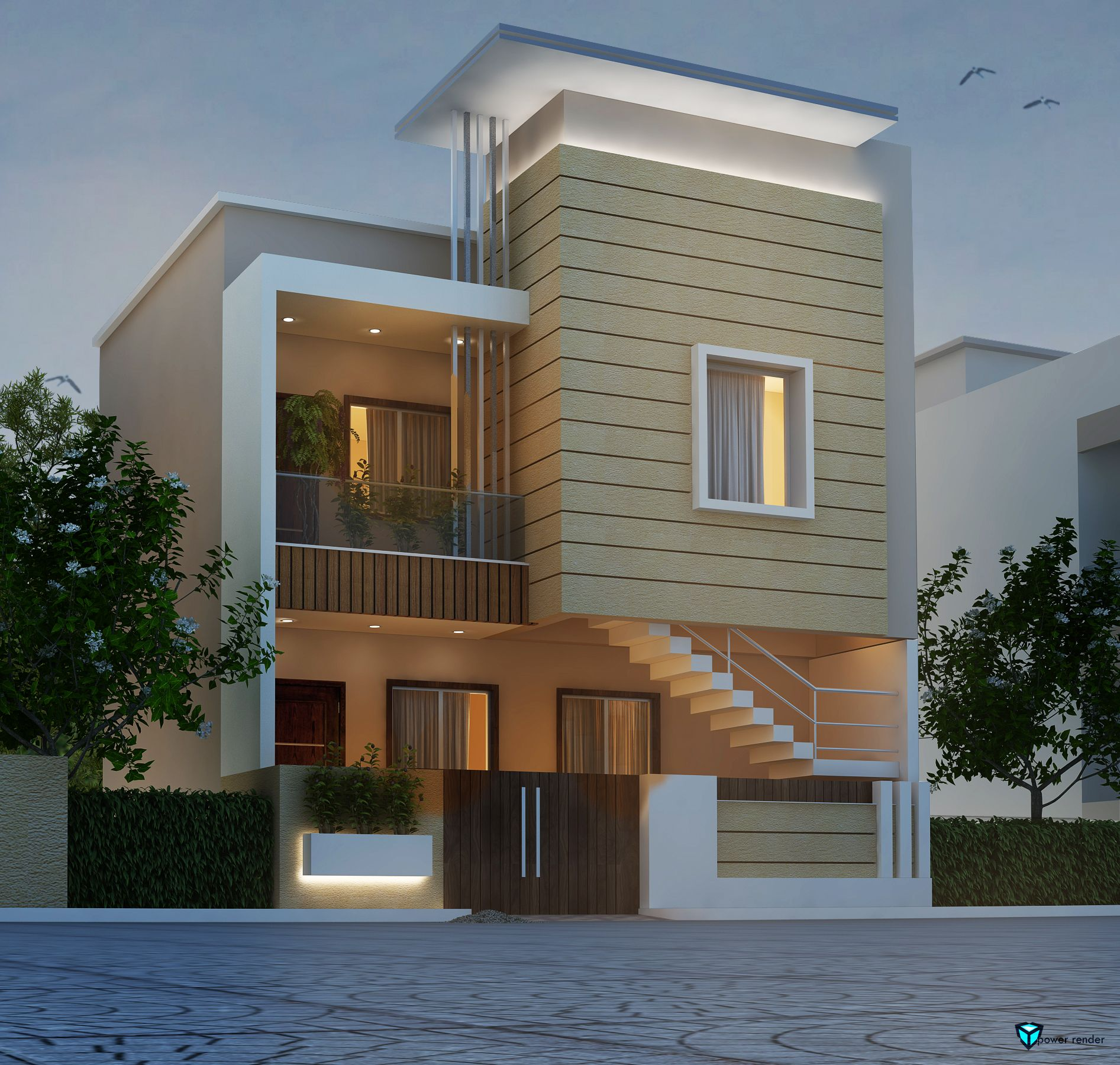 Lot block front elevation designs house villa design modern also disenos de casa elevations in pinterest rh