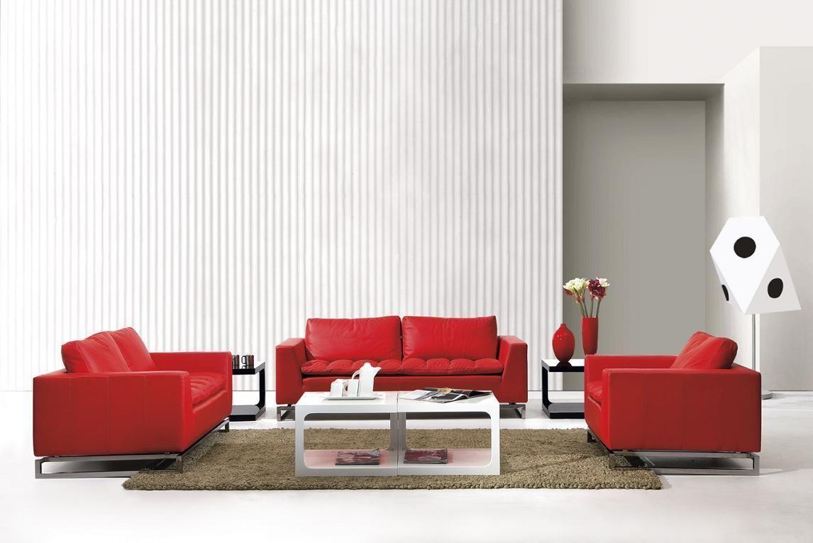 Stylish Design Furniture - Divani Casa Manhattan - Modern Leather ...