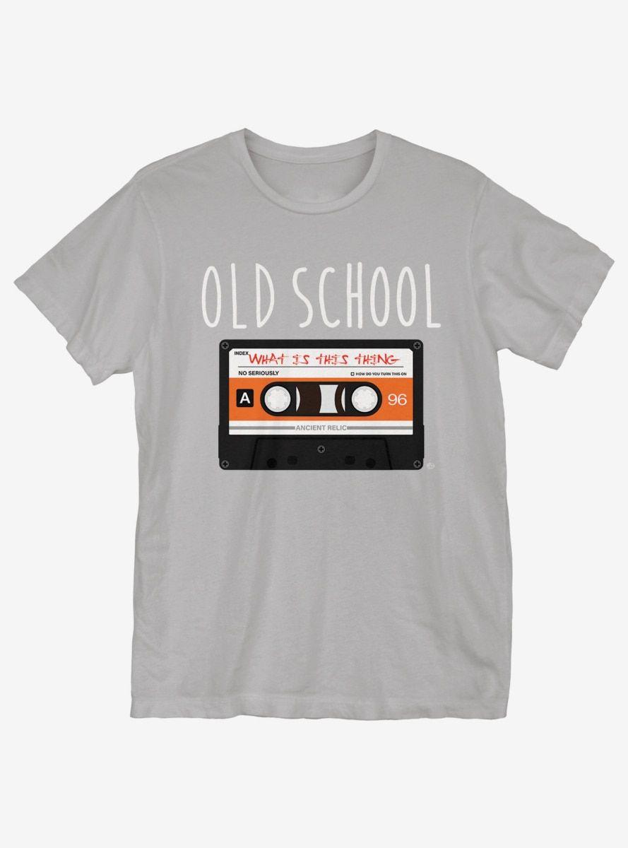 Old School Casette T-Shirt #oldtshirtsandsuch