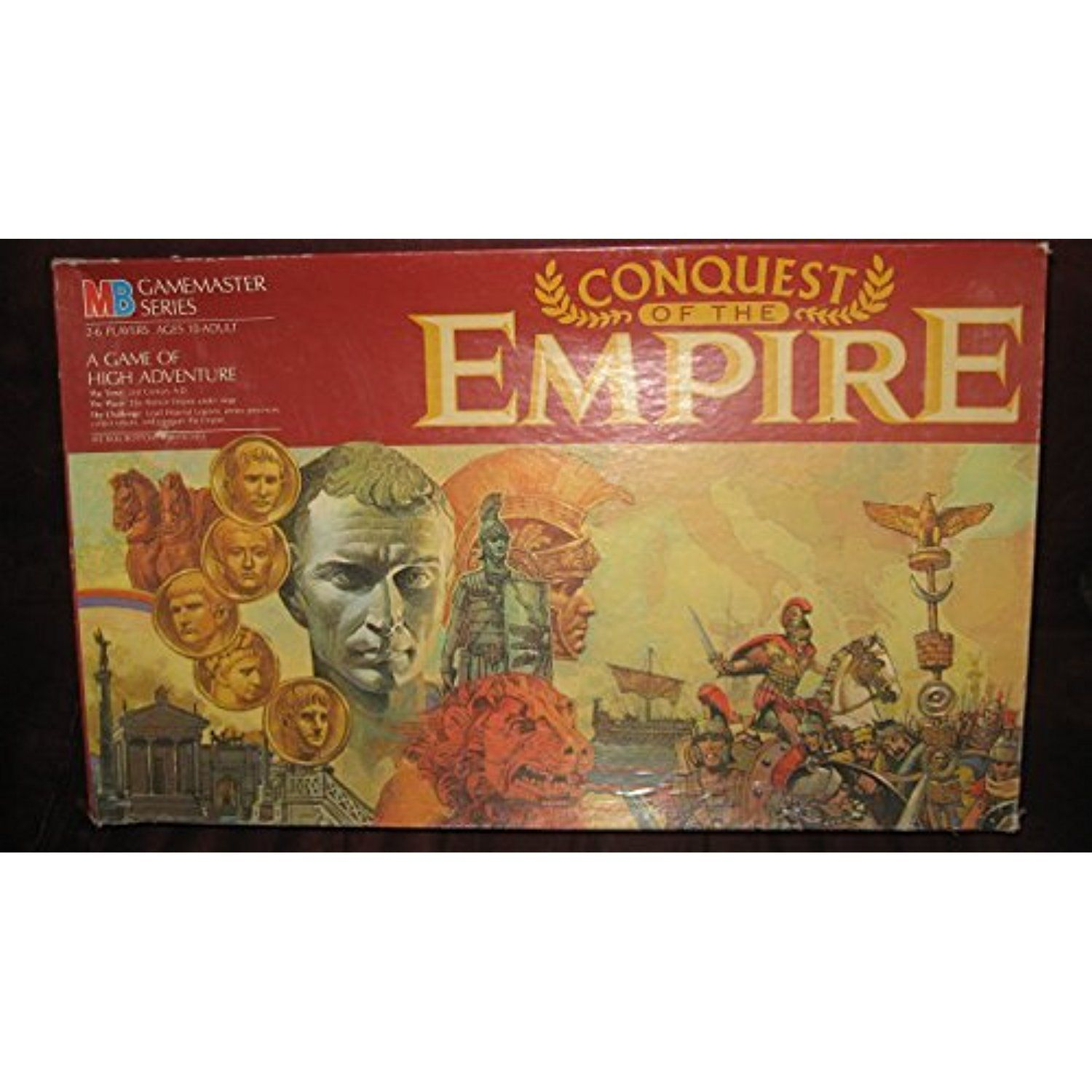 Conquest of the Empire MB Gamemaster Series *** You can find out more details at the link of the image. (This is an affiliate link) #BoardGames