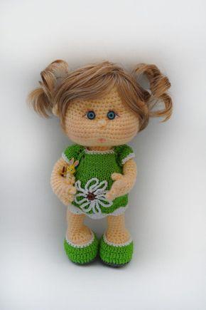 Puppe Häkeln Babypuppe Häkeln Anleitung Häkeln Pinterest