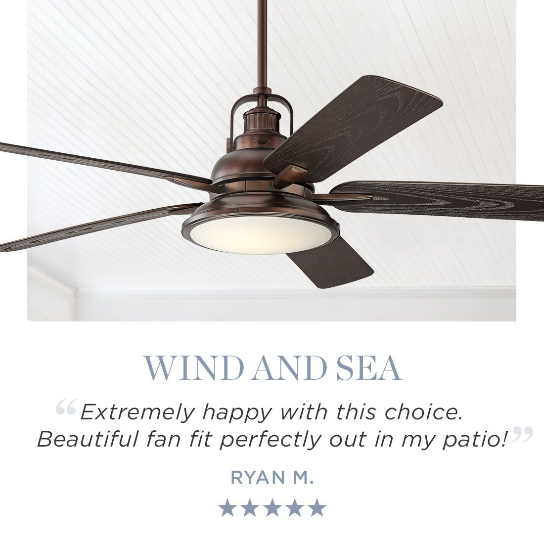 60 Wind And Sea Bronze Finish Led Outdoor Ceiling Fan 24j52 Lamps Plus Ceiling Fan Outdoor Ceiling Fans Bronze Ceiling Fan 60 inch outdoor ceiling fan